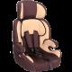 Кресло детское Zlatek FREGAT (коричн)