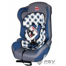 Кресло детское LITTLE CAR Comfort (клетка) син